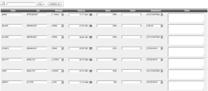 APEX 4.2 editable interactive report
